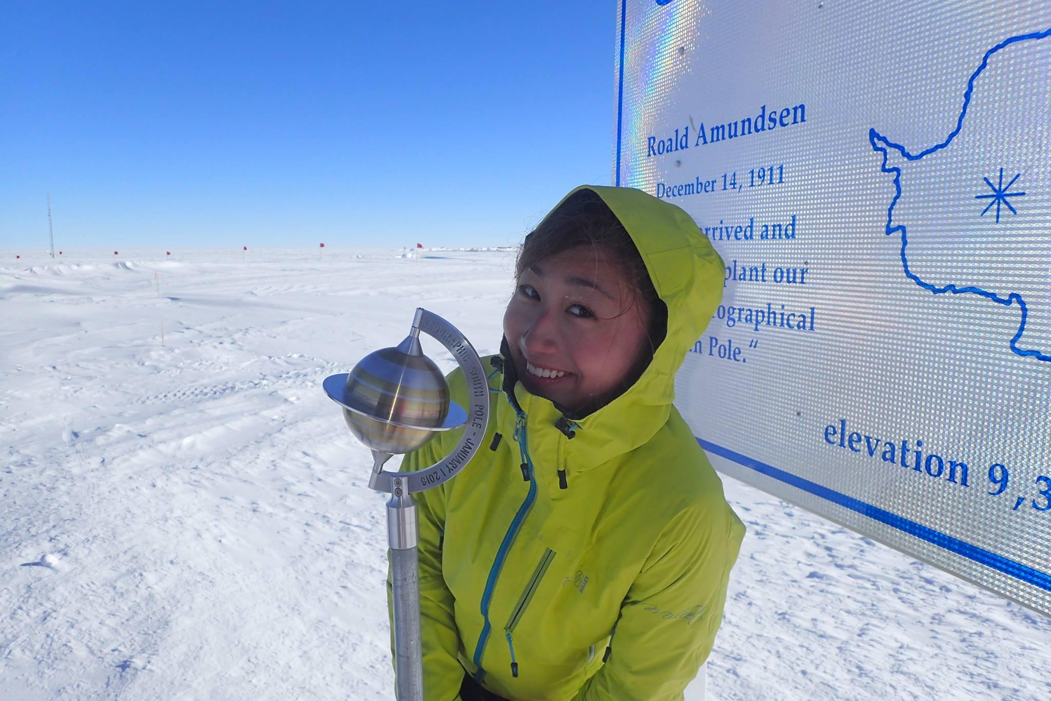 -40度以下で、皮膚が凍て付くほどの寒さでした。